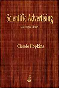 best small business books for advertising, scientific advertising claude hopkins