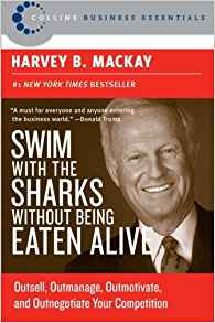 best small business books, Swim with the Sharks business book