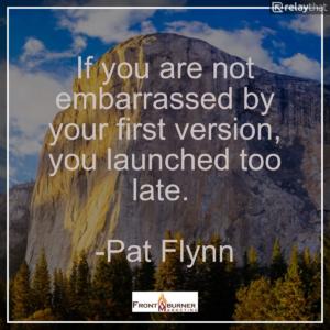 Success Quote, Entrepreneur Quote, Pat Flynn Quote