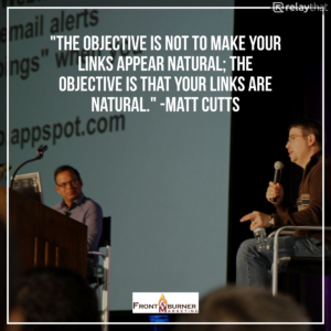 Matt Cutts, SEO Quote, Quote about Links
