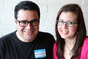 Benn and Lani Rosales on startups, Lani and Benn on Networking in Austin